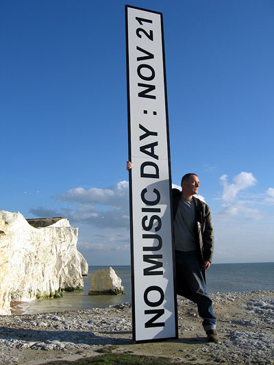 No Music Day - Bill Drummond