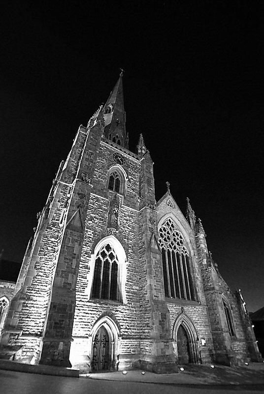 St Martin's Chruch, Bullring, Birmingham at 4am by Karen Strunks