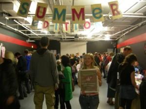 Eccentric City worldwide reader - Katie at Summer Edition 2009