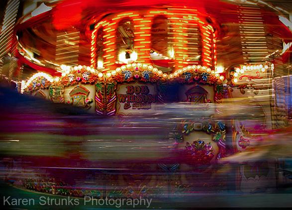 Bob Wilson Carousel by Karen Strunks 1