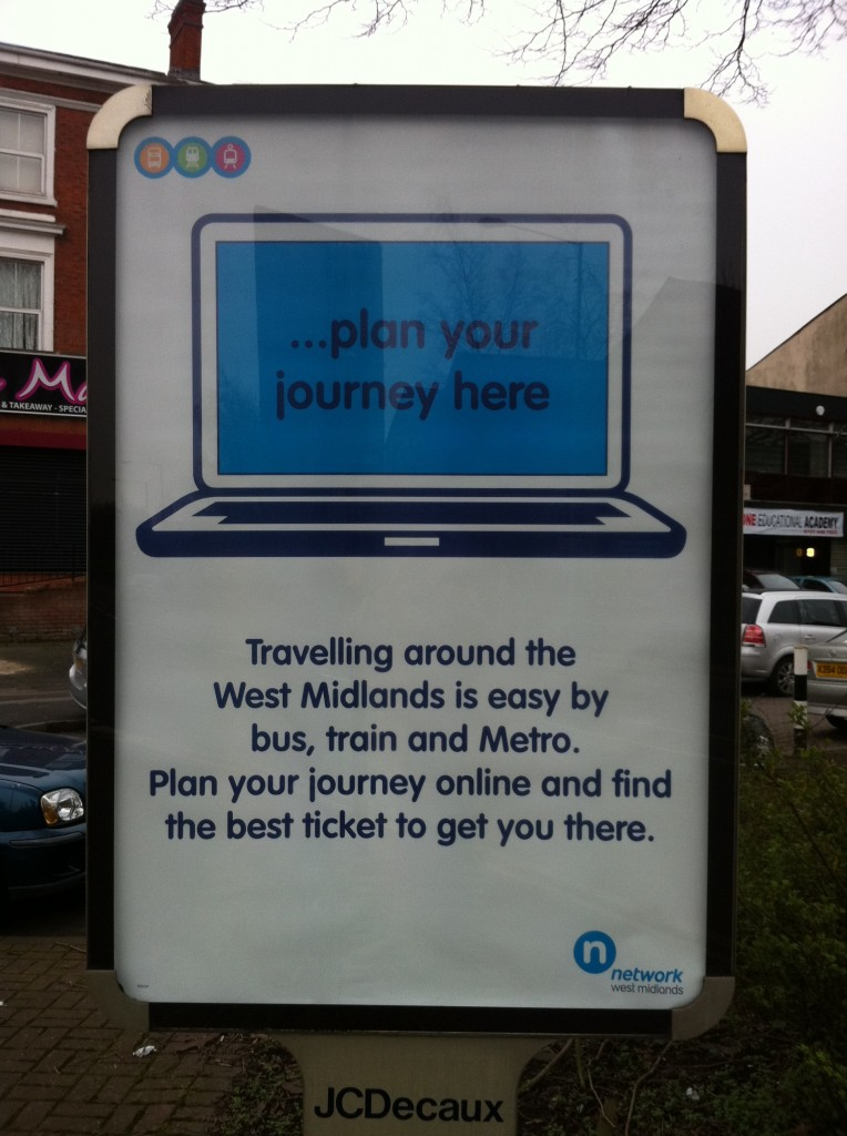 Plan Your Journey Here Poster